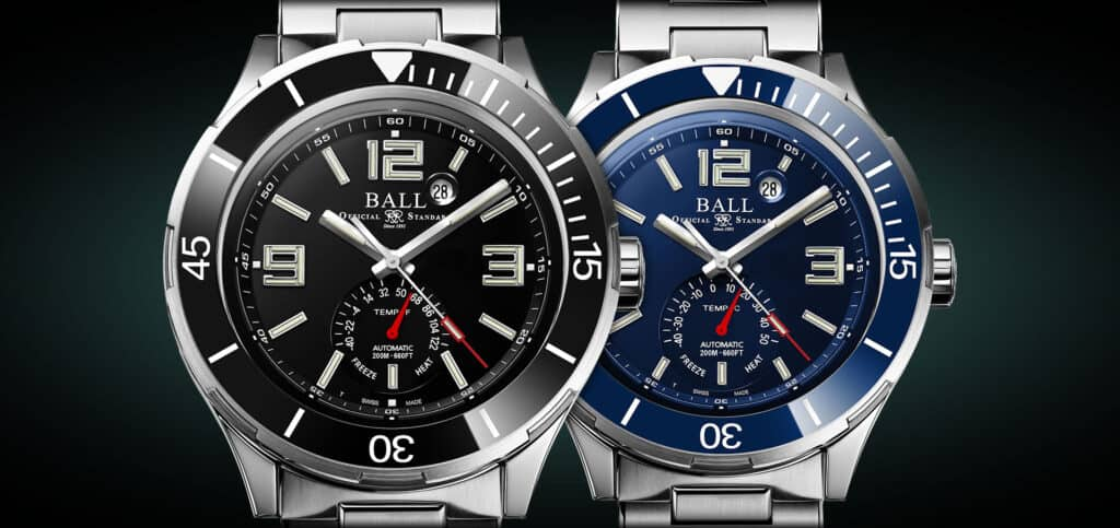 Ball Roadmaster TMT Now With Ceramic Bezel