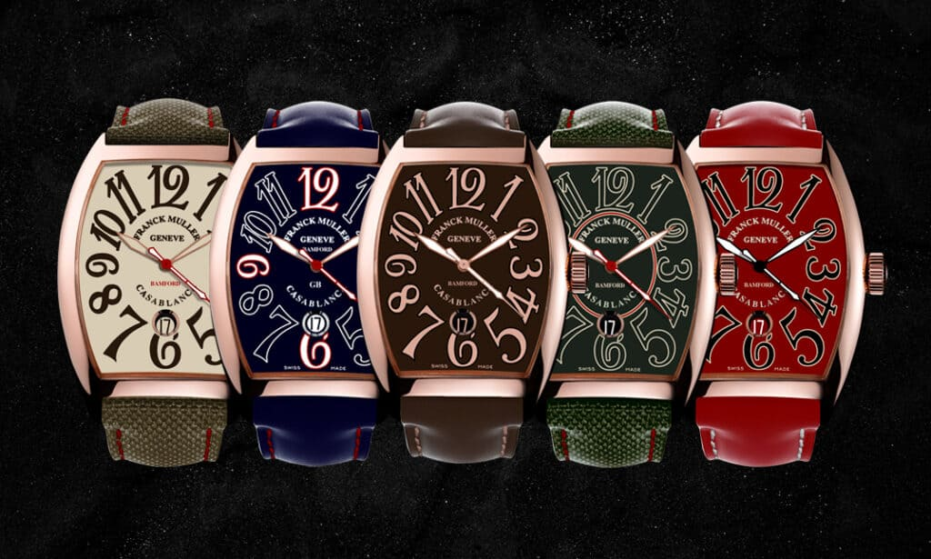 Time To Customise A Franck Muller Casablanca With Bamford