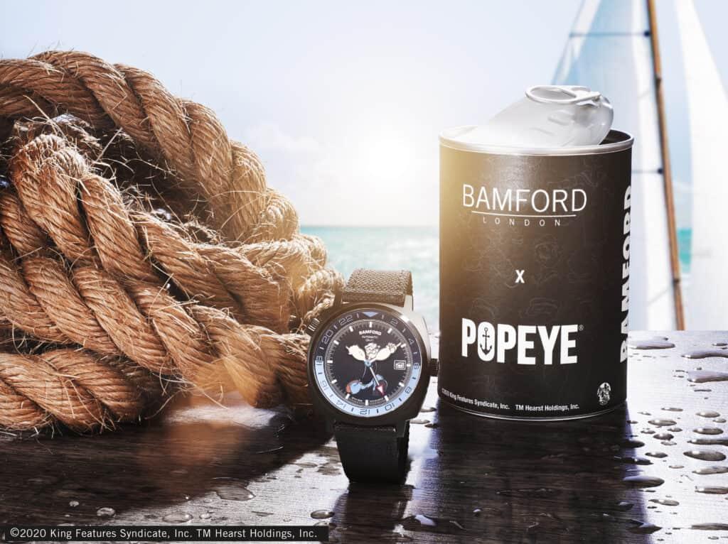 New Popeye GMT From Bamford London