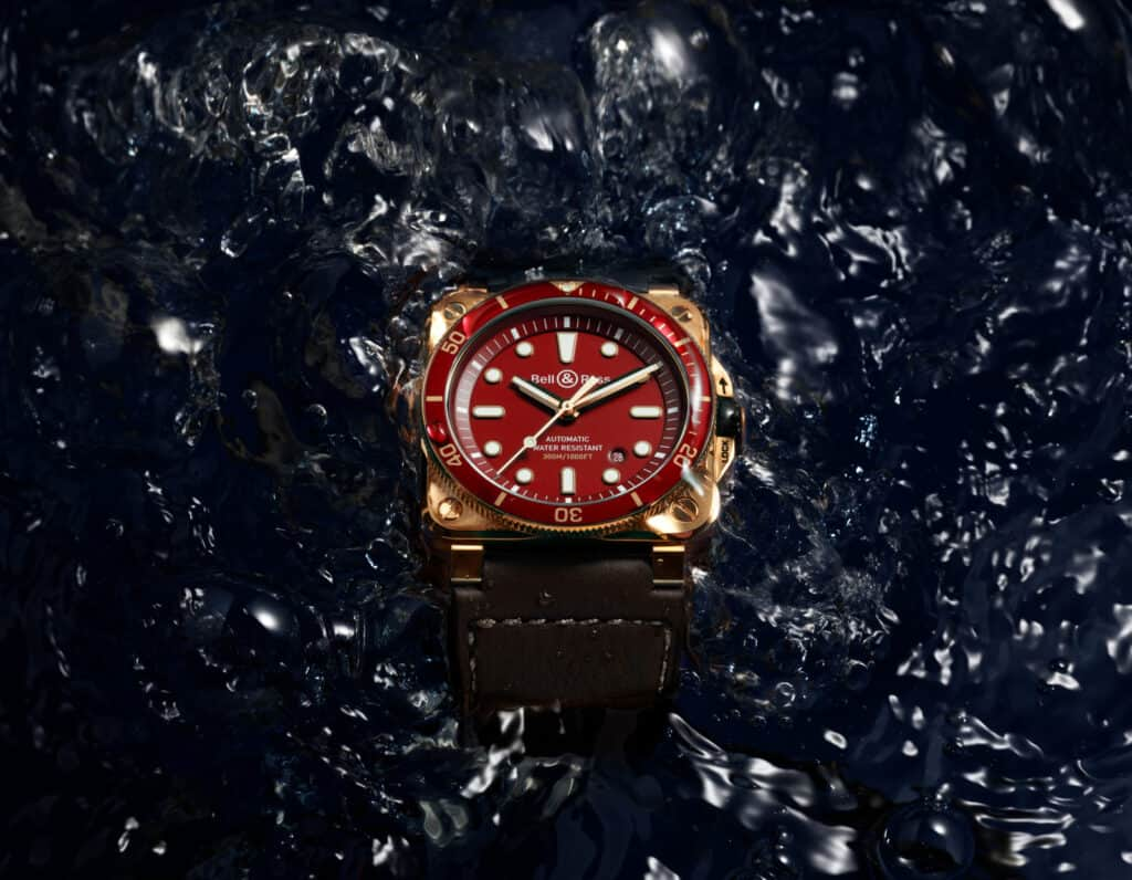 Red Is The Colour For Bell & Ross New Diver