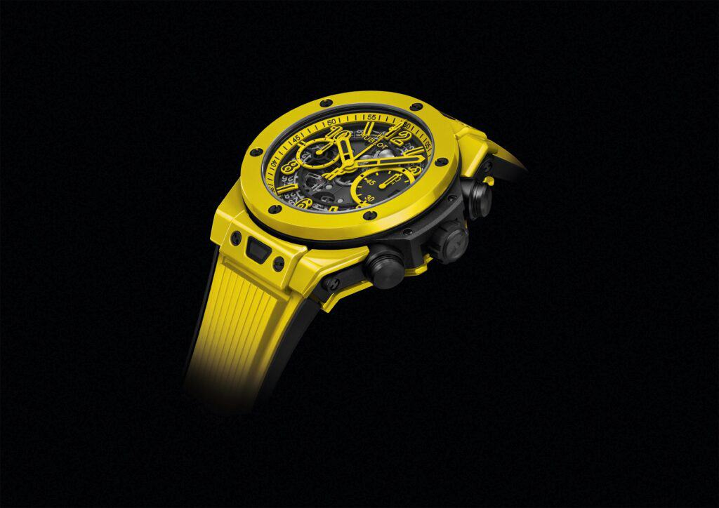 It's All Yellow For Hublot