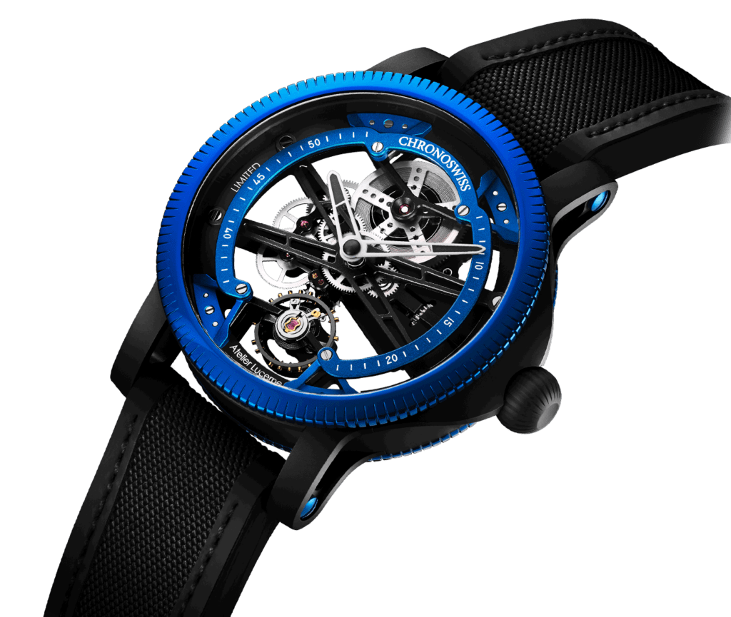 Chronoswiss Look To The Next Generation With SkelTec