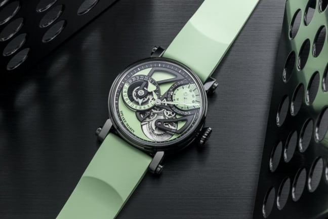 A New Flavour From Speake-Marin With Dual Time Mint