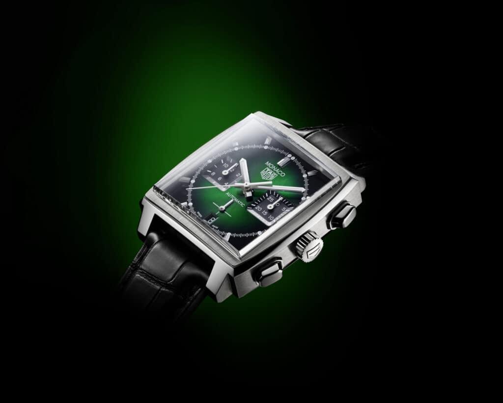 TAG Heuer Monaco Goes Green
