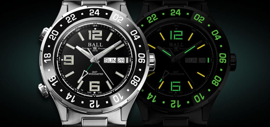 Ball Roadmaster Marine GMT Is Back In Black