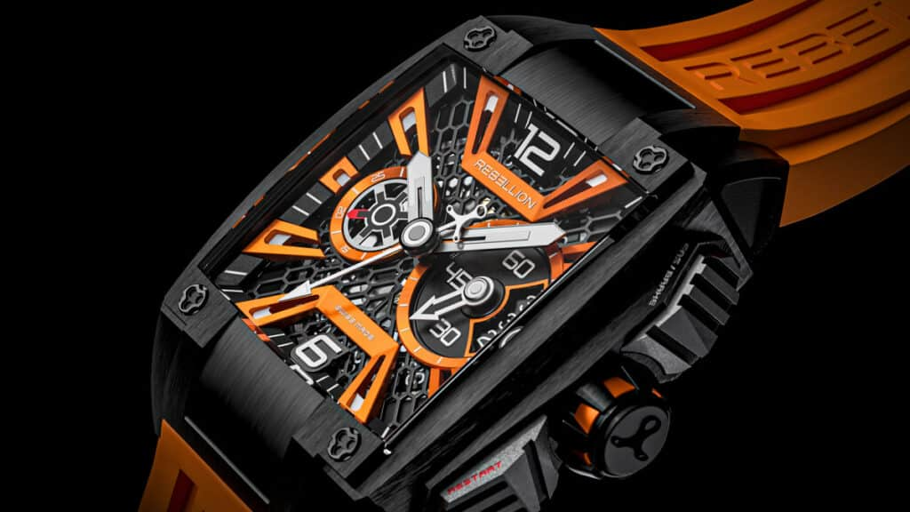 Rebellion Supercharge The Re-Volt With Chronograph