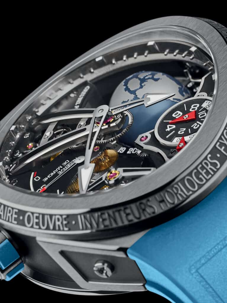 WORLD EXCLUSIVE: Greubel Forsey Reach New Heights With GMT Sport