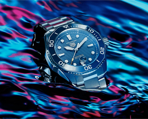 TAG Heuer Goes Back To The Future With The Aquaracer Professional 300