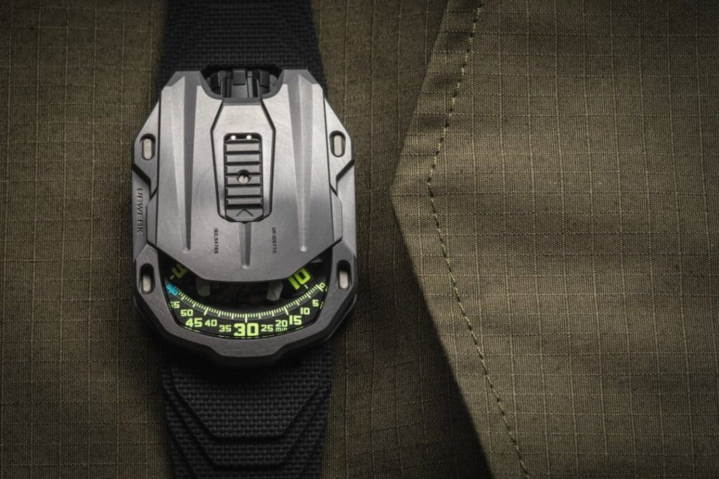 URWERK End In Style With The UR-105 Tantalum Hull