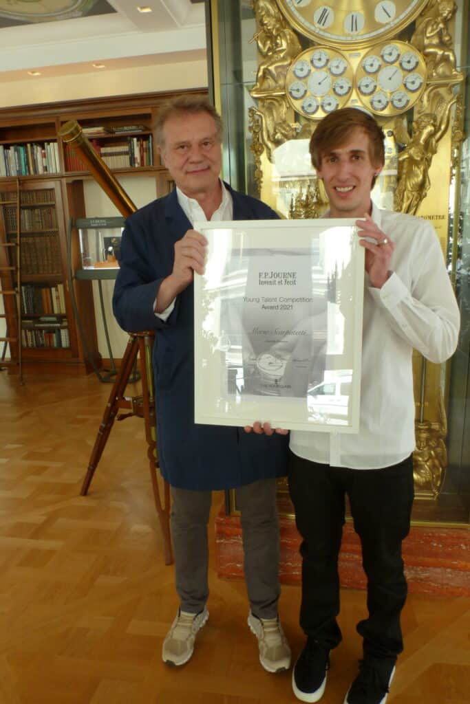 F.P. Journe Announce Young Talent Competition Winner