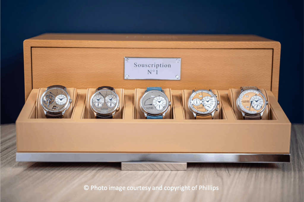 """'Only Known Full Set' Of F.P. Journe """"Souscription"""" Watches To Be Auctioned"""