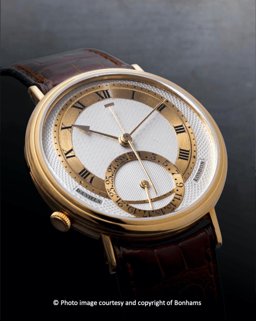 Record Auction Price For A George Daniels Millennium Wristwatch