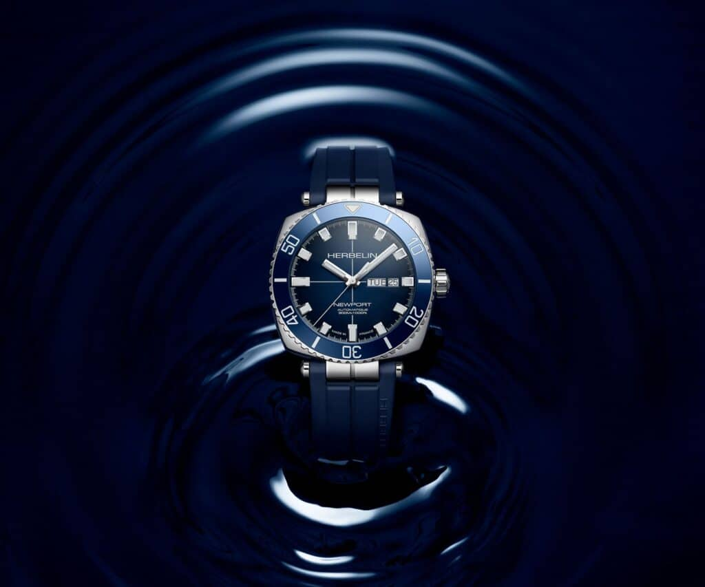 Michel Herbelin Revisit Their Archives For The Newport Héritage Diver