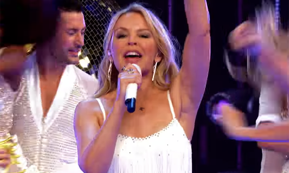 The world's still awful so let's watch Kylie Minogue on Strictly Come Dancing again