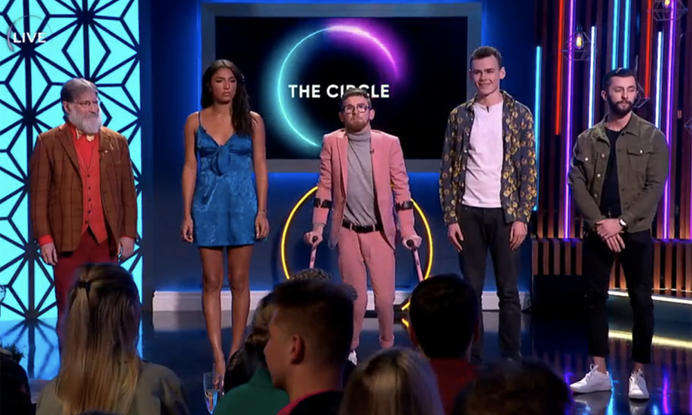 More than a million people watched The Circle final live