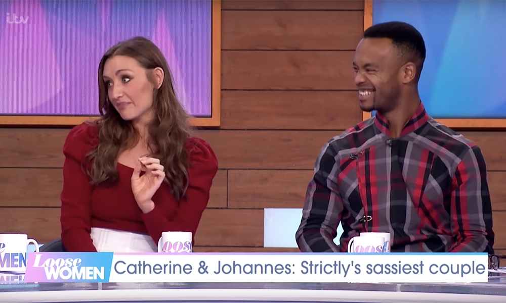 GOOD NEWS! Catherine and Johannes will serve a 'camp-fest' on Strictly this weekend