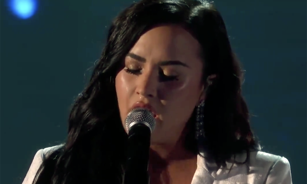 Demi Lovato's Anyone is a stark, brave return