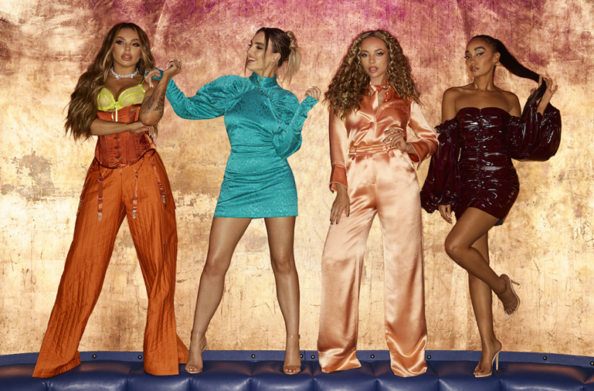 Little Mix could get their 5th No1 on Friday (but it's super close)