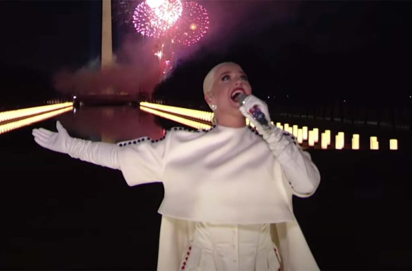 Katy Perry performs epic new Firework mix for Biden; has sales surge