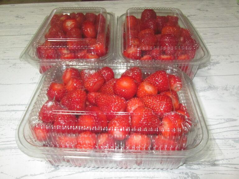 Kako pravilno zamrznuti jagode