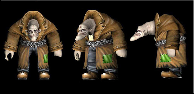 Spiral House Mage Character Troll Design Drawer Studios Character development for Games, marketing and branding. 3D CGI bespoke character design.