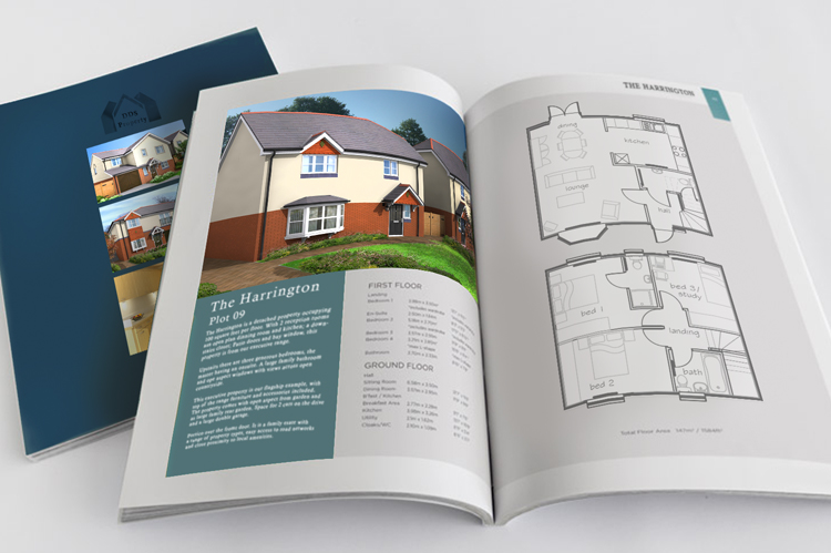 Hign impact brochures designed with your branding in mind