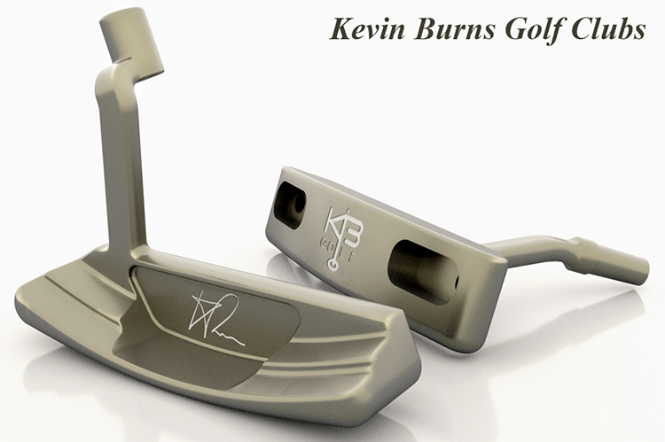 Kevin Burns Prototype Golf Clubs