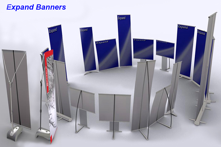 Expand Banners Configurator - Product Visualisation Catalogue Services