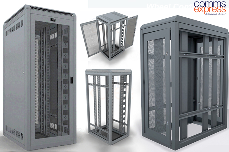 Comms Express server cabinets - Product Visualisation Catalogue Services