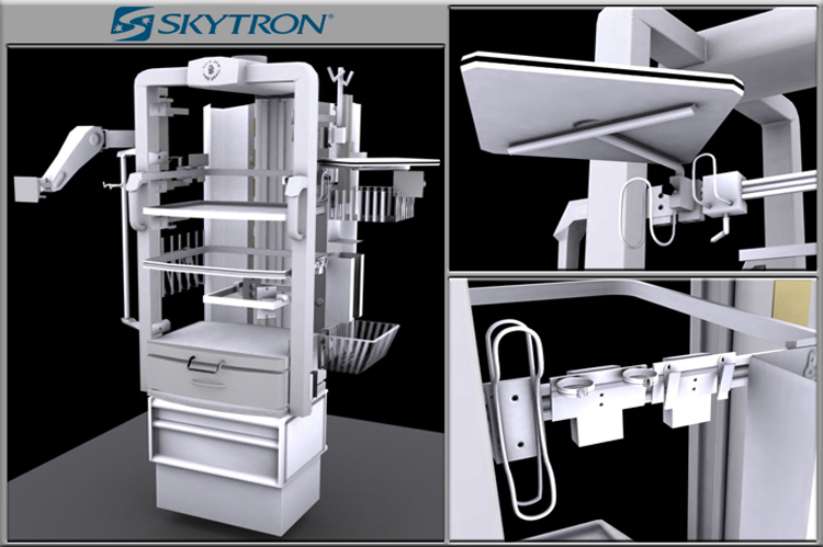 Skytron Medical visualisation - Product Visualisation Catalogue Services