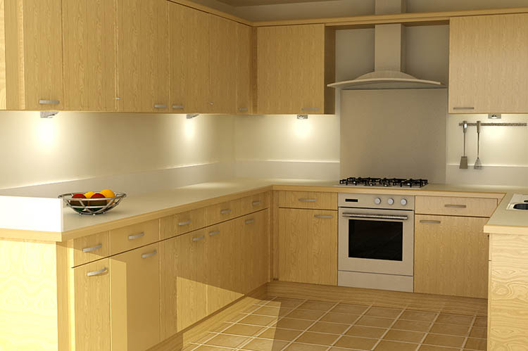 Interior Kitchen Design Visualisation. Design Drawer Studios, Architectural Visualisation Service includes 3D modelling, interior and exterior CGI renders and innovate presentations that communicate designs from architectural plans to aid marketing, sales and planning permissions
