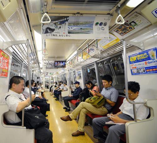 วัฒนธรรมบน รถไฟ ของคนญี่ปุ่น