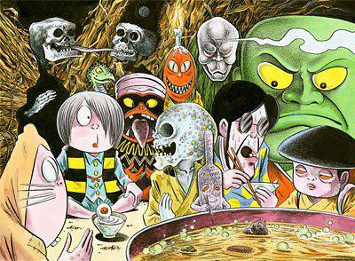 5 อันดับผีในตำนานประเทศญี่ปุ่น