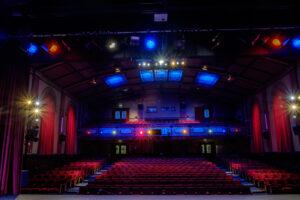 Internal shot of auditorium