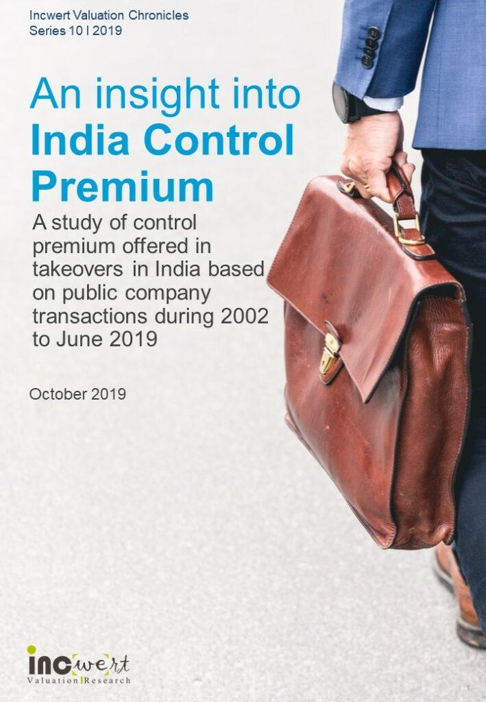 Control Premium - India_Oct 2019