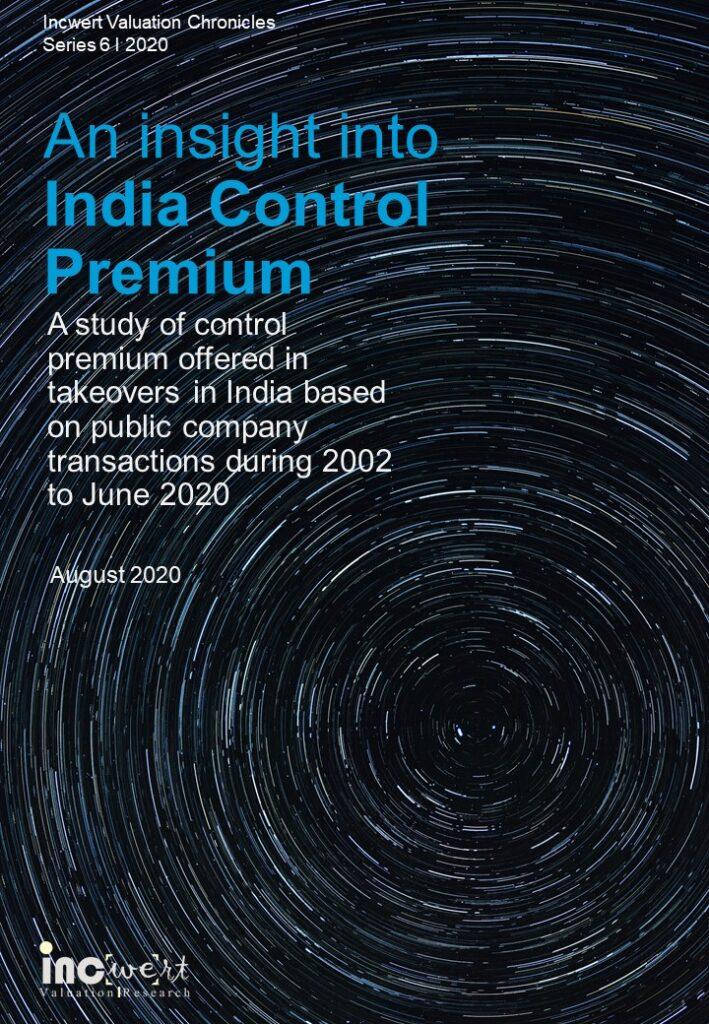Control Premium Study-India June 2020