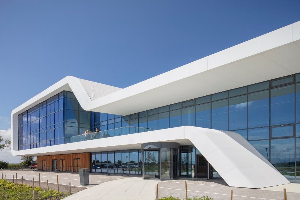 Menai Science Park 2 - Total Glass