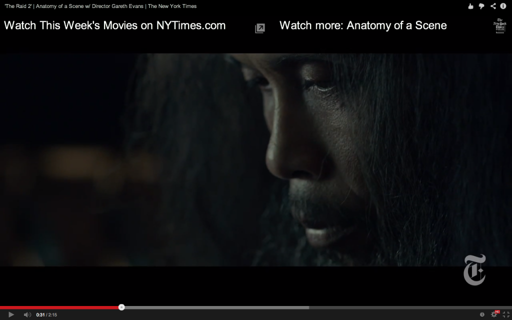 The Raid 2 Anatomy of a Scene - screen shot 2