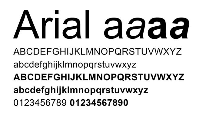 fonts power point