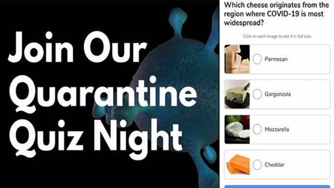 The Quarantine Quiz Job Wherever
