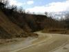 Catignano - Penne road landslide