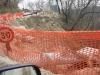 Civitella Casanova - road landslide 1
