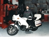 BT Rolatruc - BMW K75 new fairing & panniers