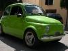 Green Fiat 500