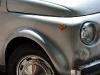 Silver Fiat 500