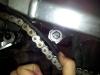 Installing new bearing