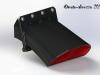 Aprilia Caponord ETV1000 Rally-Raid 3D graphic of dual-print snorkel