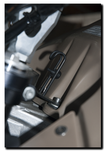 Aprilia Caponord ETV1000 Rally-Raid tank bag AP8792174 fuel tank fixing