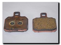 Aprilia Caponord ETV1000 Rally-Raid rear brake pads