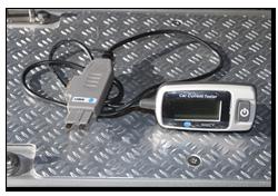 Aprilia Caponord ETV1000 Rally-Raid - Maplin N48CY current tester